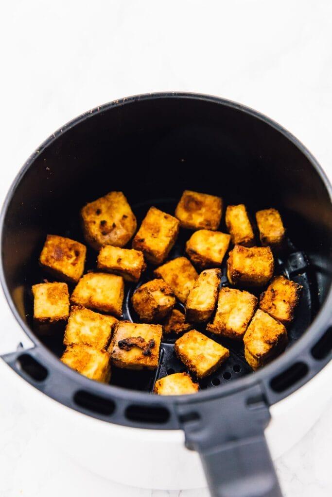 How to make Crispy Air Fryer Tofu