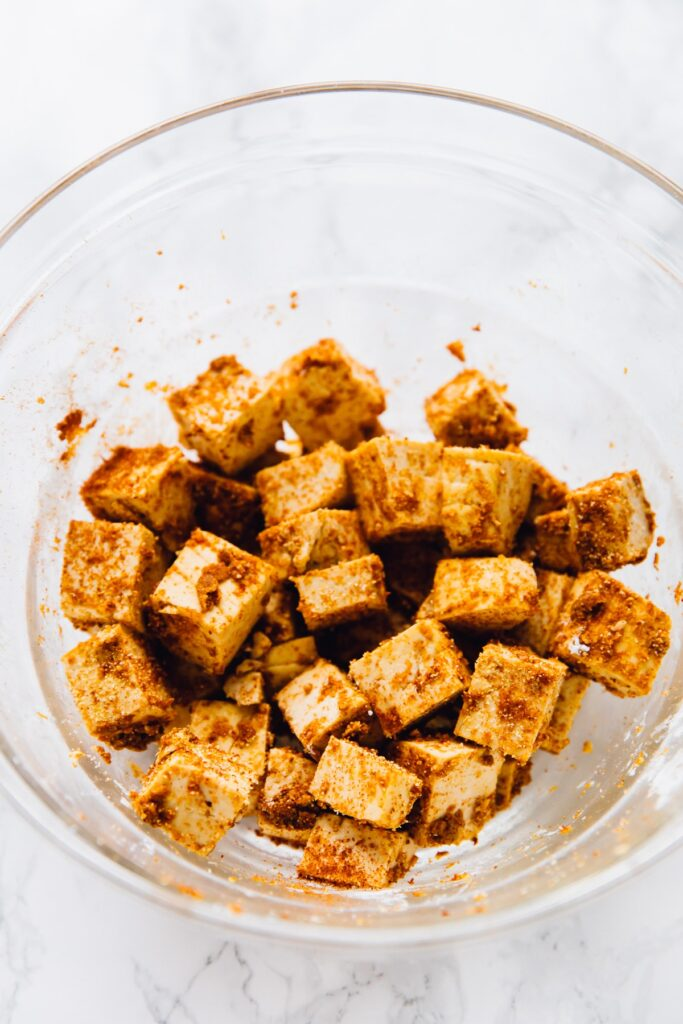 How to make Crispy Air Fryer Tofu