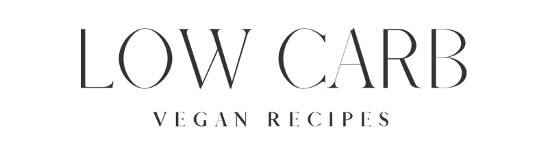 Low Carb Vegan Recipes